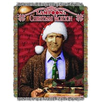 ENT 051 Christmas Vacation Pile of Gifts Tapestry Throw
