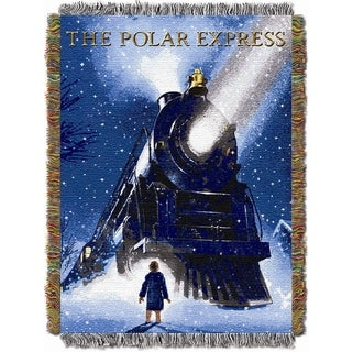 ENT 051 Polar Express Engine Wonder Tapestry Throw