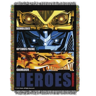 ENT 051 Transformer Four Hero Slash Tapestry Throw