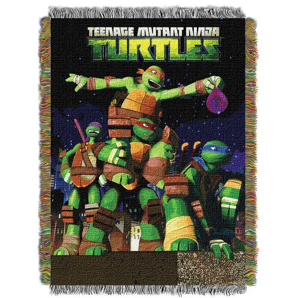 ENT 051 TMNT Guardian's Ninjas 0051 Tapestry Throw