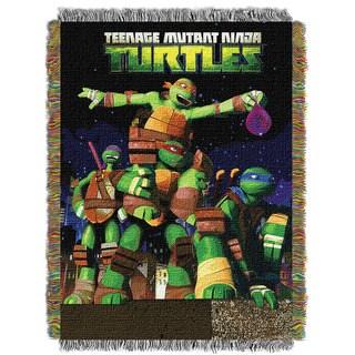 ENT 051 TMNT Guardian's Ninjas 0051 Tapestry Throw
