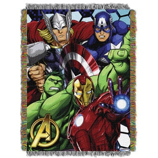 ENT 051 Marvel Avengers Best Team Tapestry Throw