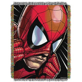 ENT 051 Marvel Peter Parker Tapestry Throw