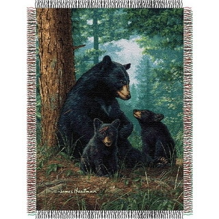 ENT 051 Hautman Bros Naptime Tapestry Throw