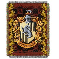 ENT 051 Harry Potter Hufflepuff Crest Tapestry Throw