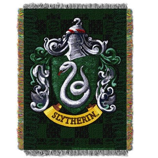 ENT 051 Harry Potter Slytherin Shield Tapestry Throw