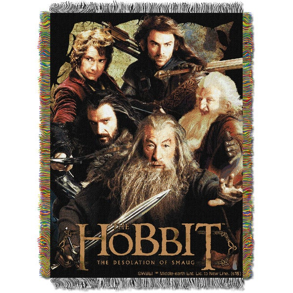 ENT 051 Hobbit Fighting Company Tapestry Throw