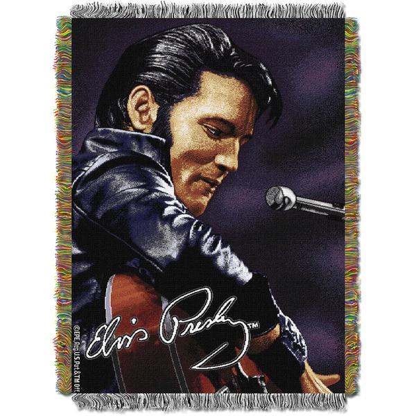 Elvis - Leather Sitting Throw