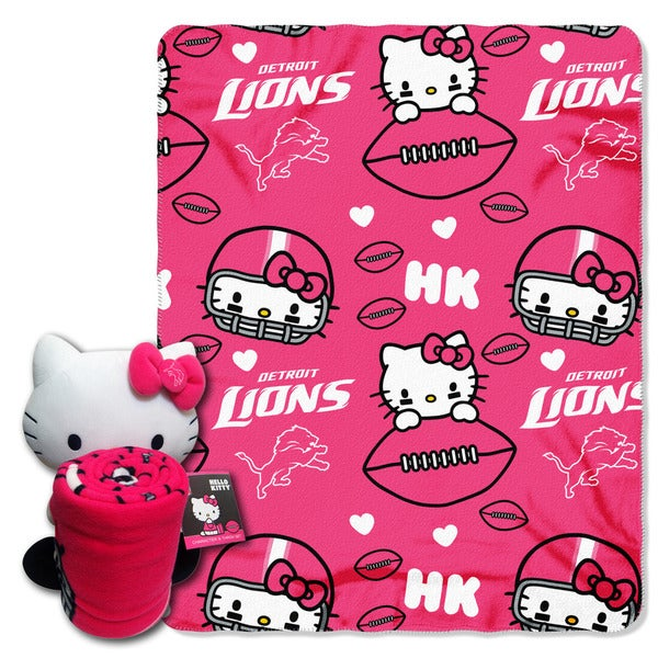 COK 027 Lions Hello Kitty with Throw