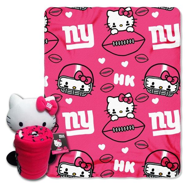 COK 027 NY Giants Hello Kitty with Throw