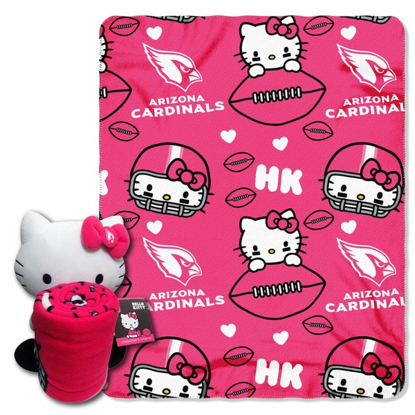 COK 027 Cardinals Hello Kitty with Throw