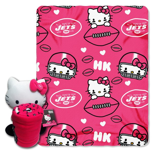 COK 027 Jets Hello Kitty with Throw