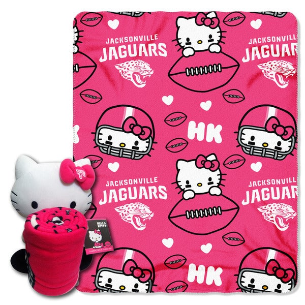 COK 027 Jaguars Hello Kitty with Throw