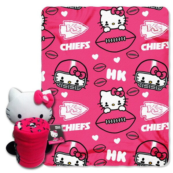 COK 027 Chiefs Hello Kitty with Throw