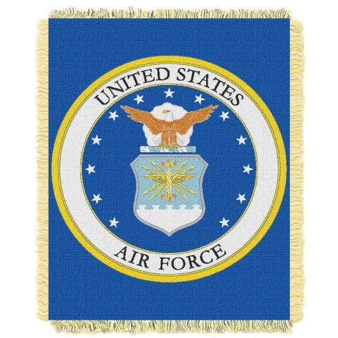 ENT 019 US Air Force Throw - Multi