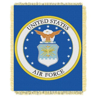 ENT 019 US Air Force Throw