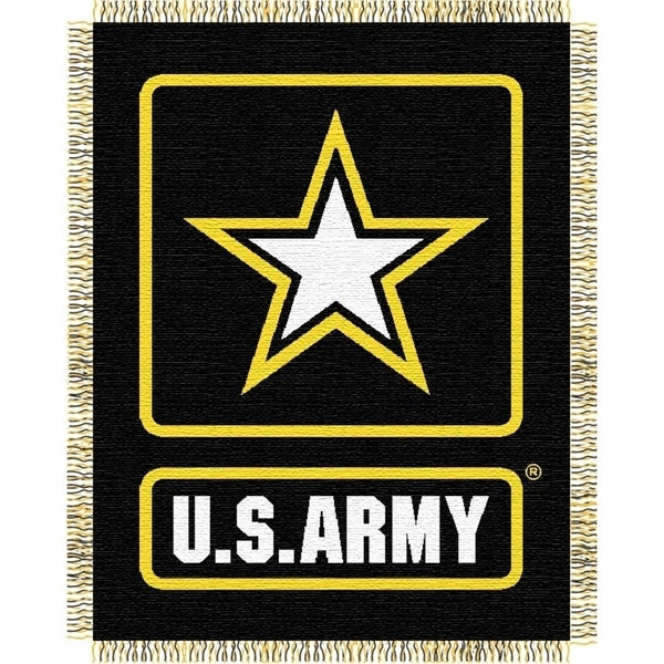 ENT 019 US Army Throw Blanket