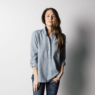 1791 Supply & Co Women's Chambray Pullover Shirt