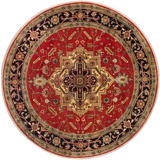 Moldovia Patch Brown Wool Kilim (4'7 x 6'6)