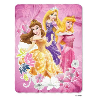 ENT 018 Princess Shining Flowers Blanket