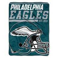 NFL 059 Eagles 40yd Dash Micro Blanket