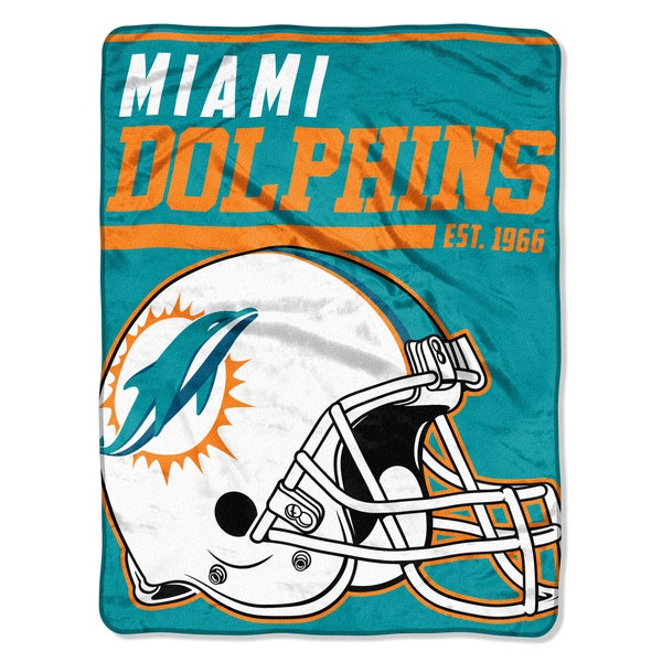 NFL 059 Dolphins 40yd Dash Micro Blanket