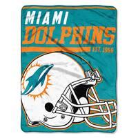 NFL 059 Dolphins 40yd Dash Micro Blanket