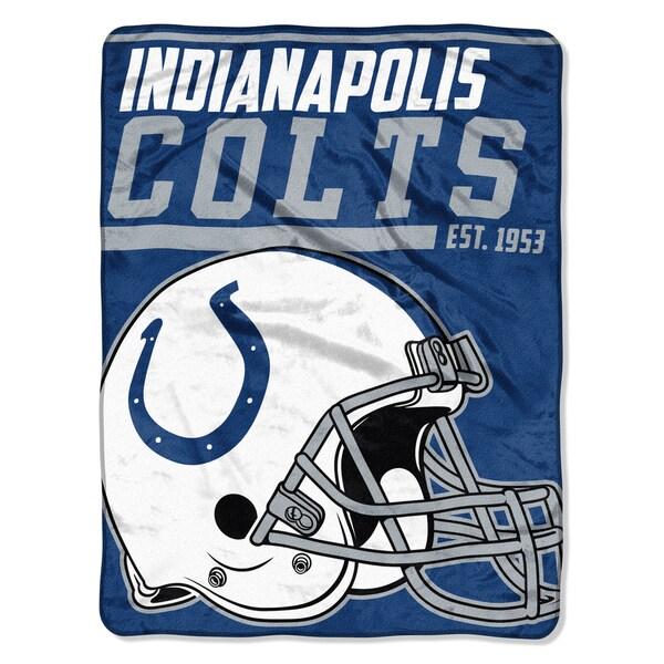 NFL 059 Colts 40yd Dash Micro Blanket