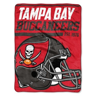 NFL 059 Bucs 40yd Dash Micro Blanket