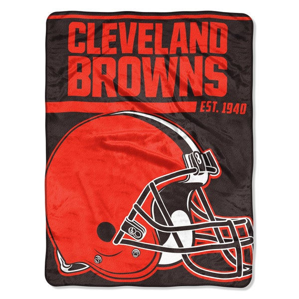 NFL 059 Browns 40yd Dash Micro Blanket