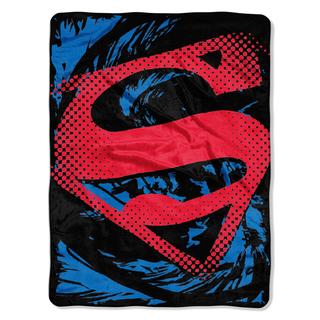 ENT 059 Superman Super Rip Shield Blanket