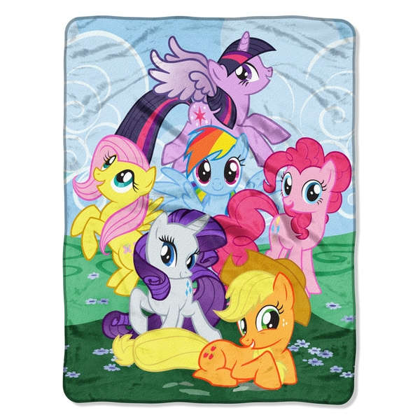 ENT 059 My Little Pony Join The Herd Blanket
