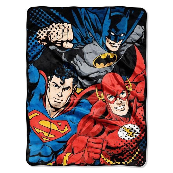 ENT 059 Justice League League Trio Blanket