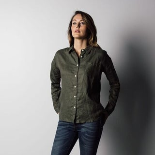 1791 Supply & Co Women's Olive Market Shirt