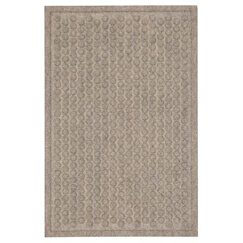 Mohawk Dots Impressions Chestnut Doormat (3' x 4') - 3' x 4'