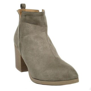 Blue Women's Alandra Synthetic Leather Booties