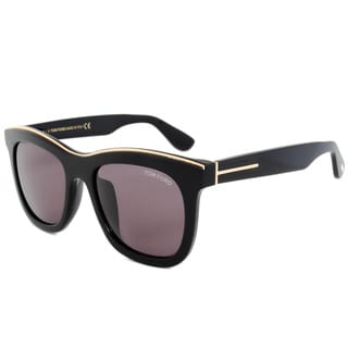 Tom Ford FT0414D 01A Black Frame Brown Lens Sunglasses