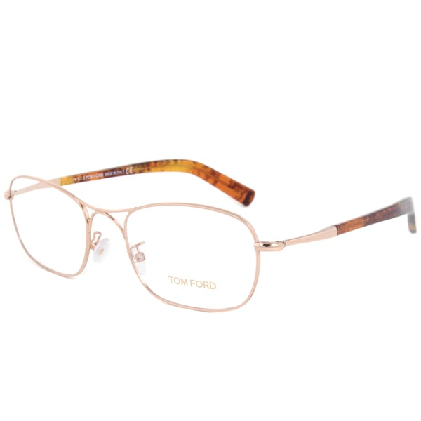 0f32fb2e62b4 Shop Tom Ford Ft5366 028 Rose Gold Frame 53mm Lens Eyeglass Frames