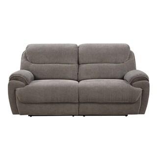 Emerald Kramer Platinum Dual Reclining Sofa