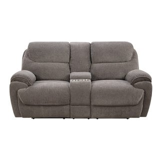 Emerald Kramer Platinum Dual Reclining Love with Console