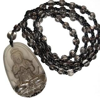 Mystical Buddha Beaded Necklace