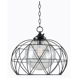 Cliff 1 Light Outdoor Pendant