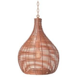 Design Craft Heffner Light Tan 1-light Pendant