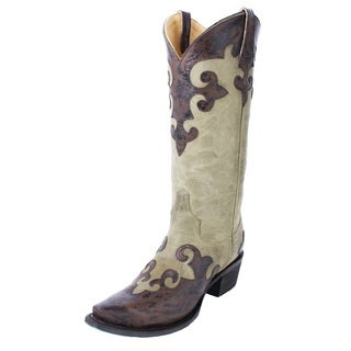 Lane Women's 'Dawson' Leather Cowboy Boot