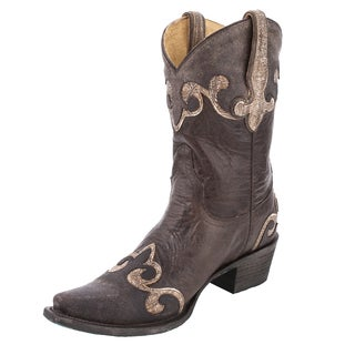 Lane Boots Women's 'Hidden Stars' Leather Cowboy Boot