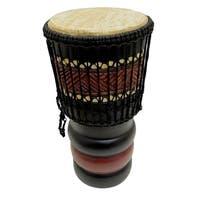 Handmade Jumbo Bongo Drum (Ghana)