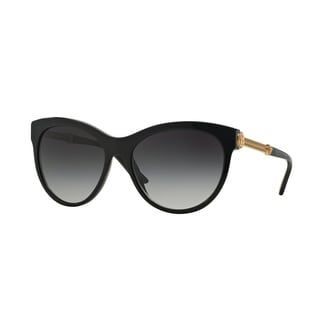 Versace Women VE4292 GB1/8G Black Metal Phantos Sunglasses
