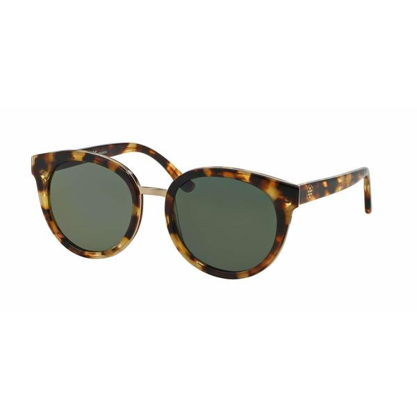 c713550c5ea8 Shop Tory Burch Women TY7062 PANAMA 11509A Havana Plastic Phantos Sunglasses  - Free Shipping Today - Overstock - 13292160