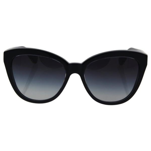 d6249c9bcfd3 Dolce amp Gabbana Women DG4250 29178G Black Plastic Cat Eye Sunglasses