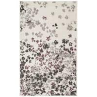 Safavieh Adirondack Vintage Floral Ivory / Purple Rug - 2'6 x 4'